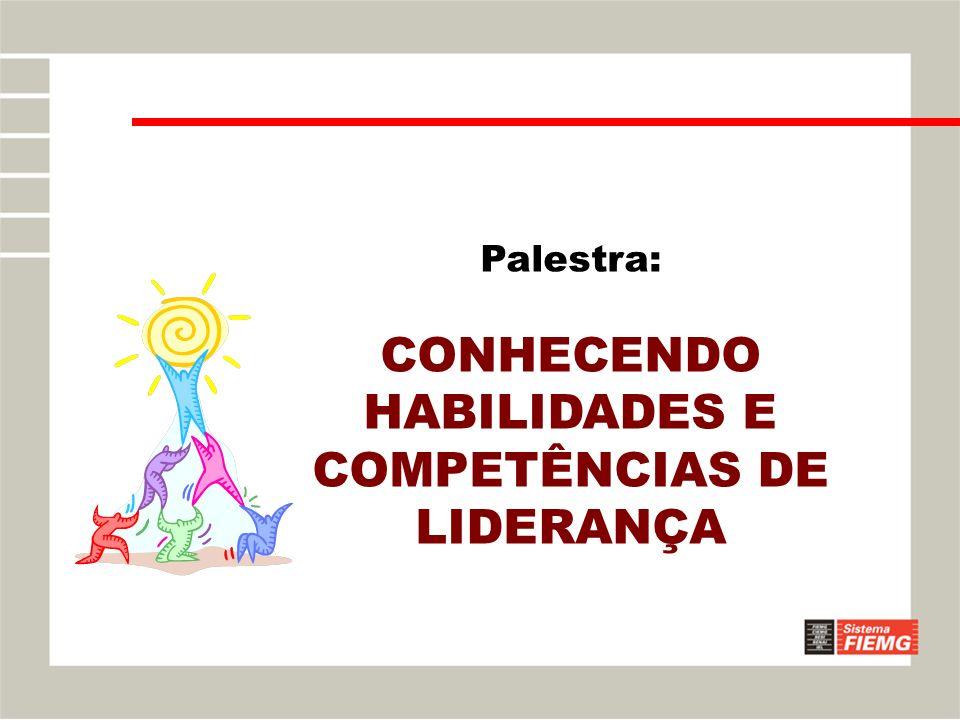 Palestra: CONHECENDO HABILIDADES E COMPETÊNCIAS DE LIDERANÇA