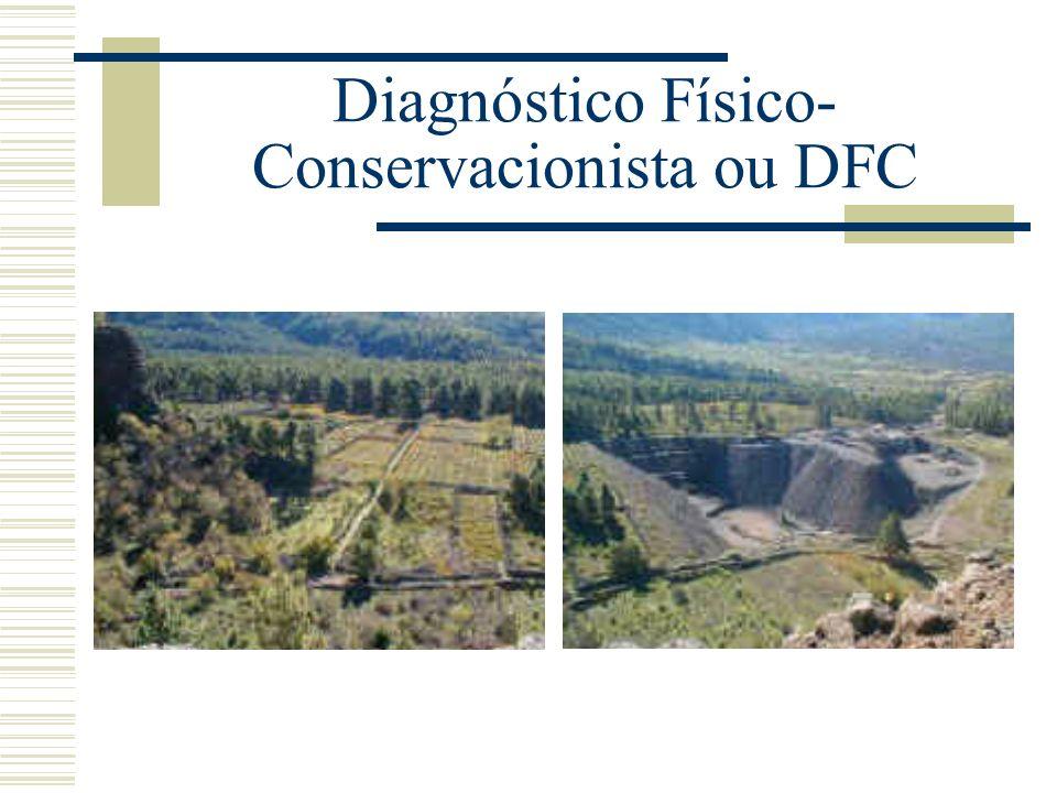 Diagnóstico Físico- Conservacionista ou DFC