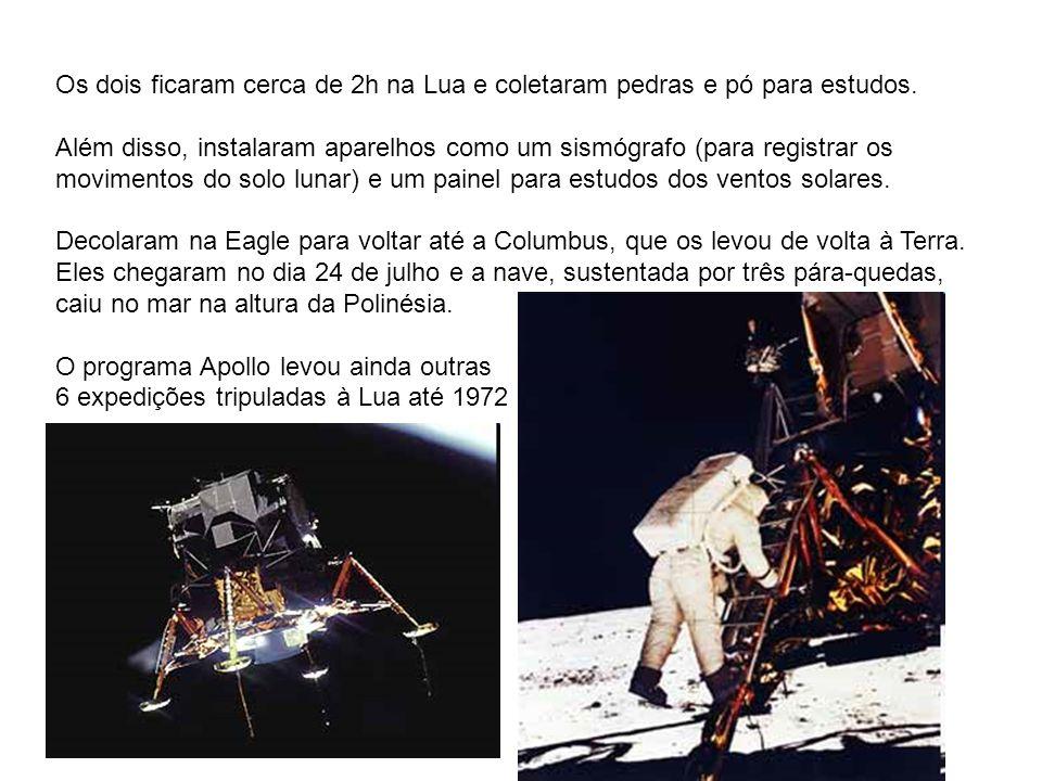 A viagem começou com o lançamento do foguete Saturno 5, na base de Cabo Kennedy, nos USA. Ele carregava a nave Apollo 11, que depois se desprendeu em