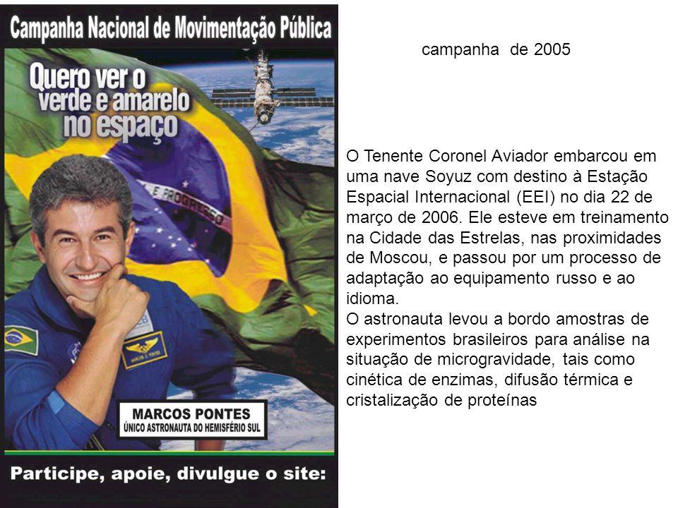 Marcos Pontes, o primeiro astronauta do hemisfério Sul