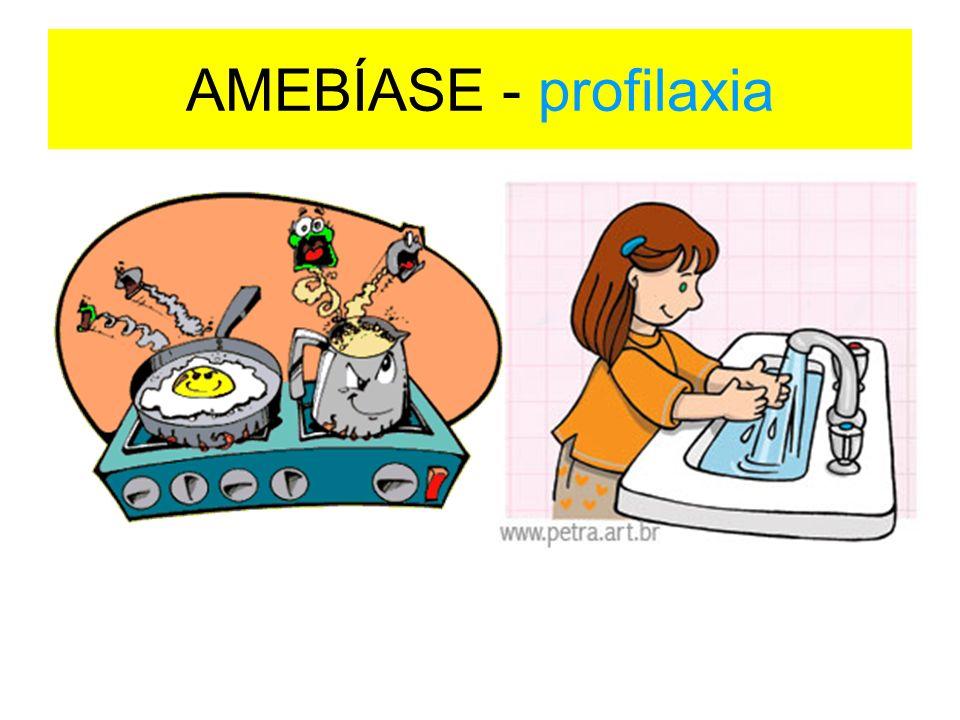 AMEBÍASE - profilaxia