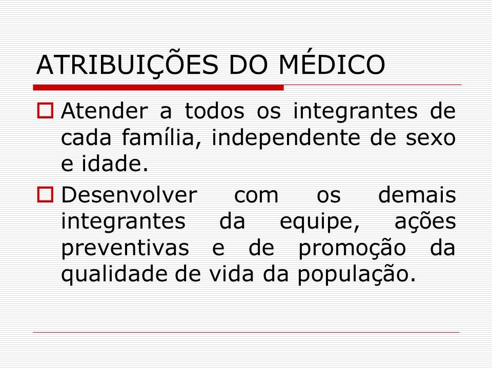 ATRIBUIÇÕES DO ENFERMEIRO Supervisionar o trabalho do Agente Comunitário de Saúde e do Auxiliar de Enfermagem.