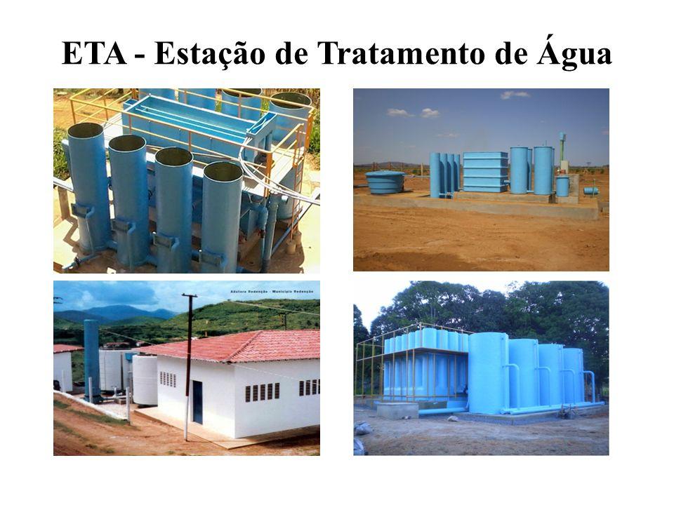 ETA - Estação de Tratamento de Água