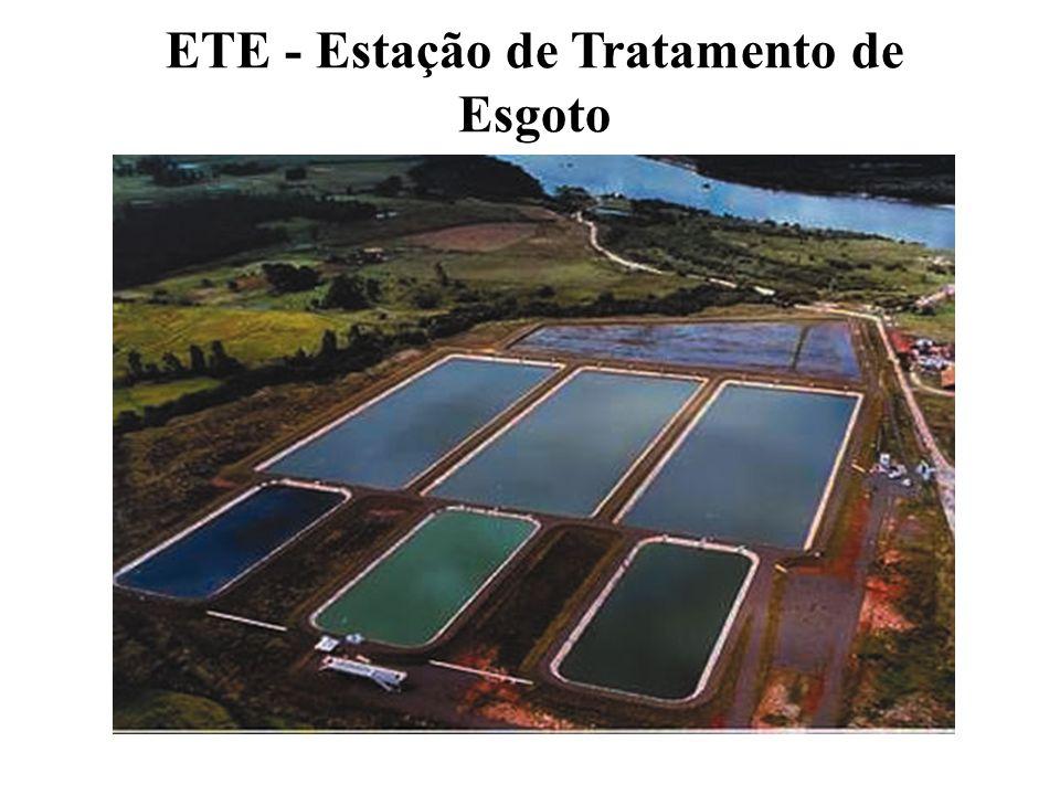 ETE - Estação de Tratamento de Esgoto
