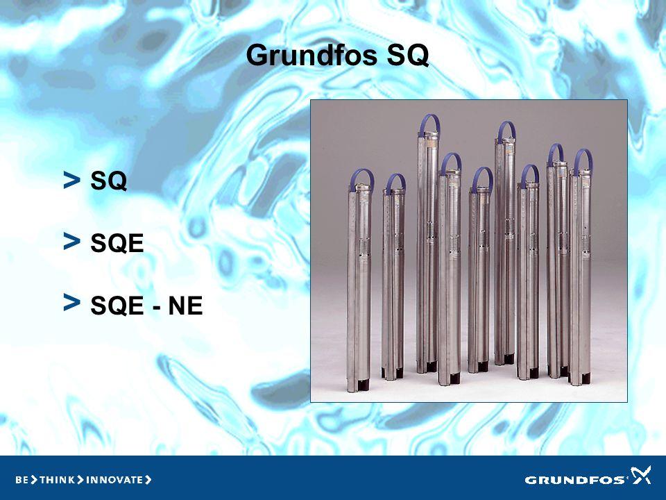 Grundfos SQ SQ SQE SQE - NE > > >