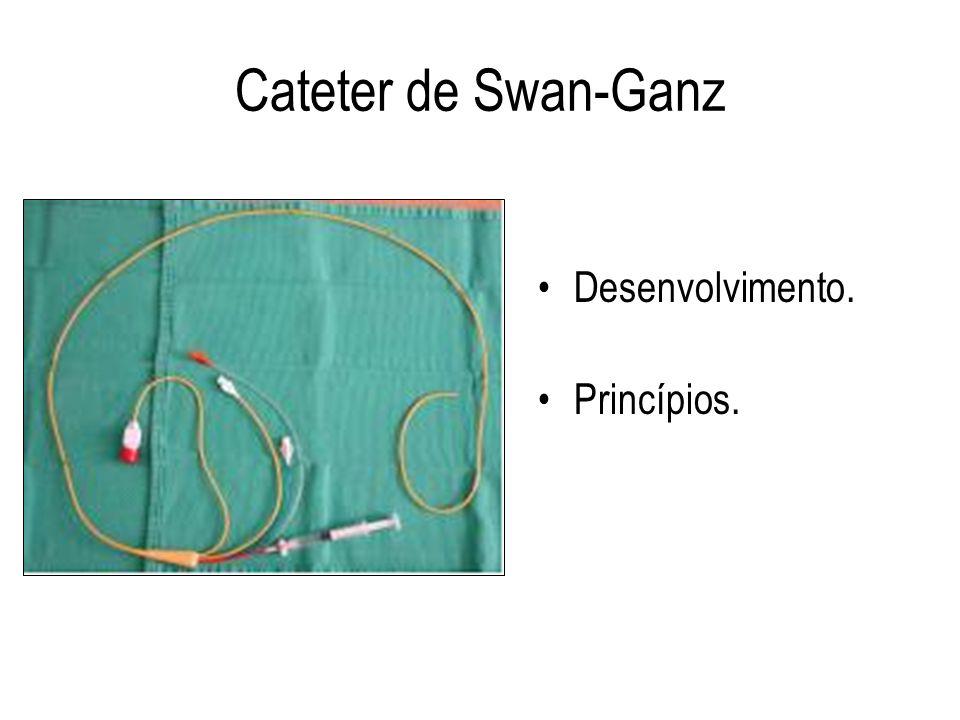 Cateter de Swan-Ganz Desenvolvimento. Princípios.
