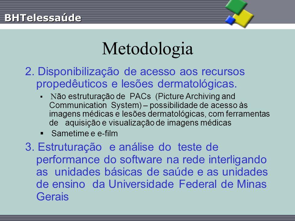 BHTelessaúde Principais benefícios da Telessaúde na APS em Belo Horizonte Utilização de tecnologia de baixa complexidade, com amplo impacto social e replicável em dimensões distintas Modelo de baixo custo Estreitamento das relações entre pesquisa e meio acadêmico (Universidades) e assistência (serviços) Aumento ao acesso à consulta para as especialidades mais estranguladas