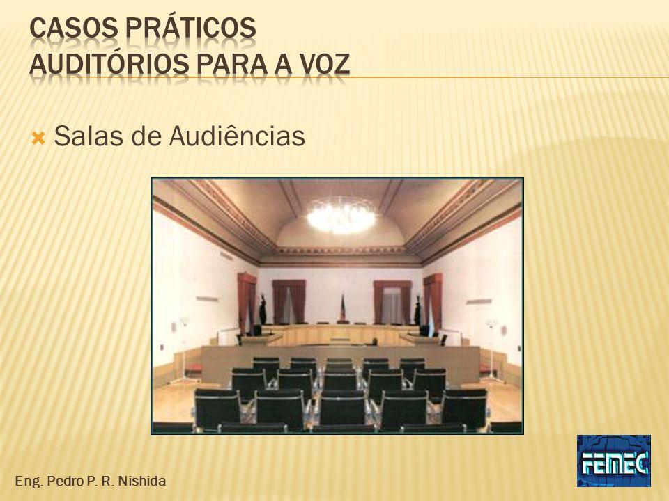 Salas de Audiências Eng. Pedro P. R. Nishida