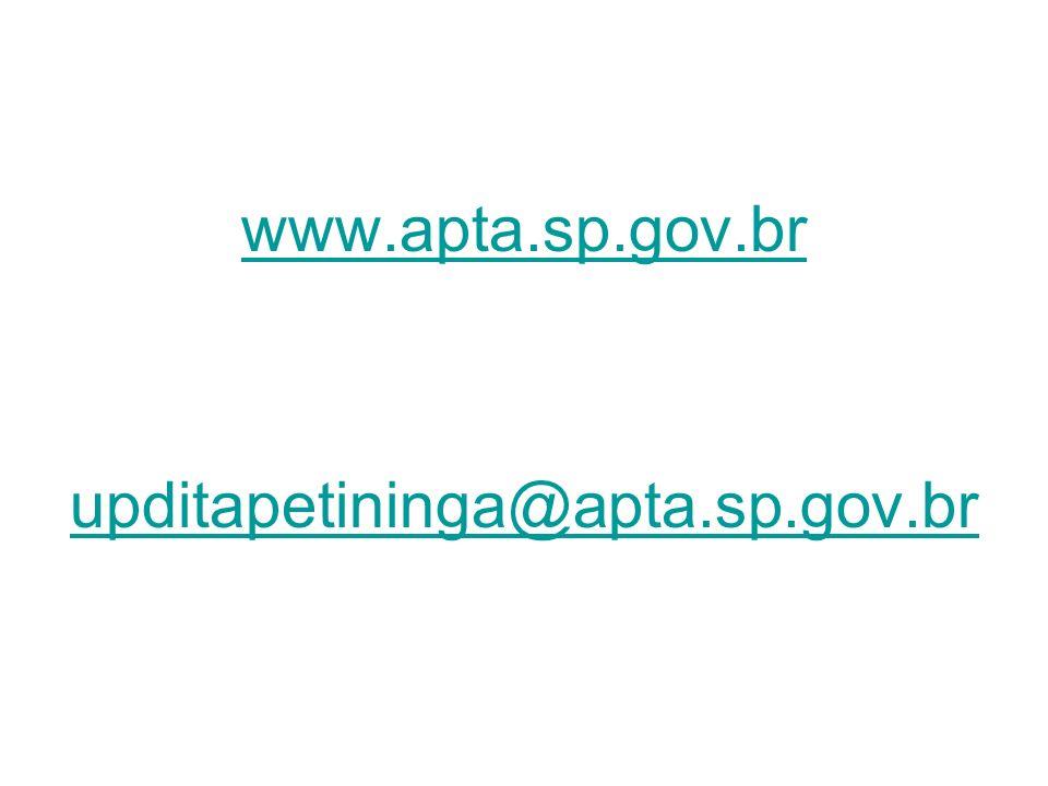 www.apta.sp.gov.br upditapetininga@apta.sp.gov.br