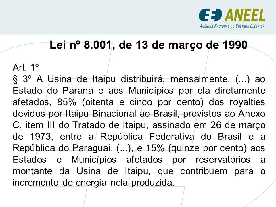 Lei nº 8.001, de 13 de março de 1990 Art.