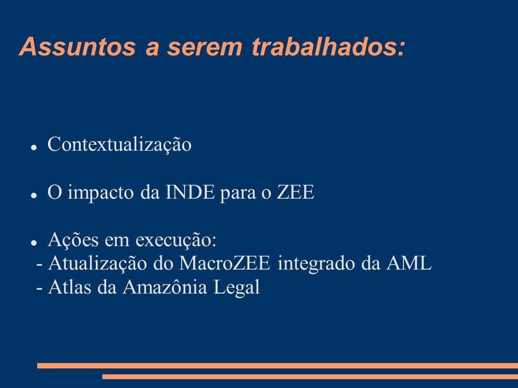 Atualização do Mapa Integrado ZEEs da Amazônia Legal