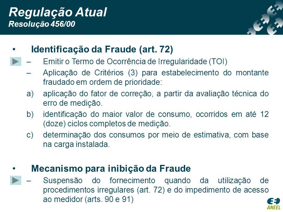 Identificação da Fraude (art. 72) –Emitir o Termo de Ocorrência de Irregularidade (TOI) –Aplicação de Critérios (3) para estabelecimento do montante f