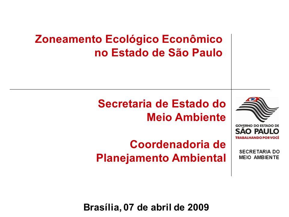 PROSPECÇÃO DE CENÁRIOS TEMÁTICOS ELABORAÇÃO DE POLÍTICAS PÚBLICAS DE FOMENTO E RUPTURA AVALIAÇÕES AMBIENTAIS ESTRATÉGICAS DAS POLÍTICAS PÚBLICAS FOCADAS NAS CADEIAS PRODUTIVAS ZONEAMENTO ECOLÓGICO ECONÔMICO & PLANOS de AÇÃO Encadeamento Lógico