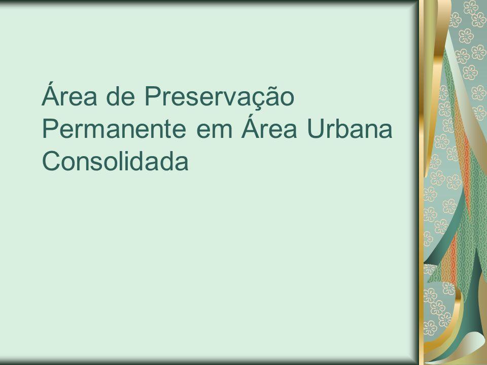 Identificação da Área passível de utilização para Atividade de Utilidade pública Em curso d´água (art.