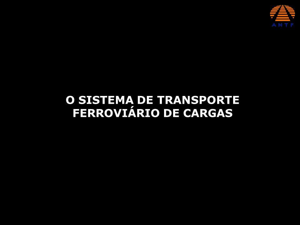 ESTRADA DE FERRO CARAJÁS - CVRD CONCESSÕES INTEGRAIS ESTRADA DE FERRO VITÓRIA-MINAS - CVRD FERROVIA NORTE SUL - VALEC (EM PROCESSO DE PRIVATIZAÇÃO) FERROVIAS NORTE BRASIL - FERRONORTE