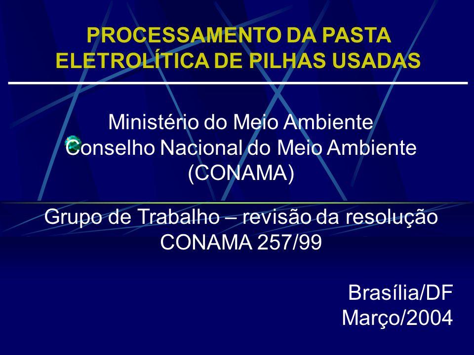 PROCESSAMENTO DA PASTA ELETROLÍTICA DE PILHAS USADAS Pilhas antes da desmontagem (acima) Frascos com os produtos resultantes do processamento da pasta eletreolítica (abaixo)