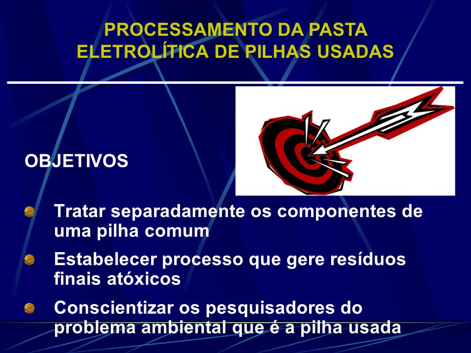 PARTE EXPERIMENTAL - Matérias-primas Foram utilizadas pilhas Zn/MnO 2 e alcalinas do tipo AA, fabricadas entre 1999 e 2001, de quatro diferentes fornecedores.