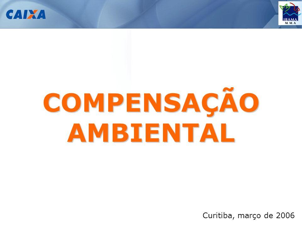 Curitiba, março de 2006 COMPENSAÇÃO AMBIENTAL
