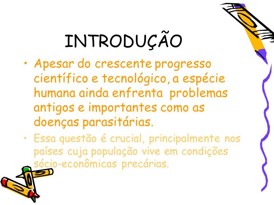 Percentuais de positividade dos principais cestódeos da população do Paraná em relação ao do Brasil, comparados ao total de parasitas assinalados.