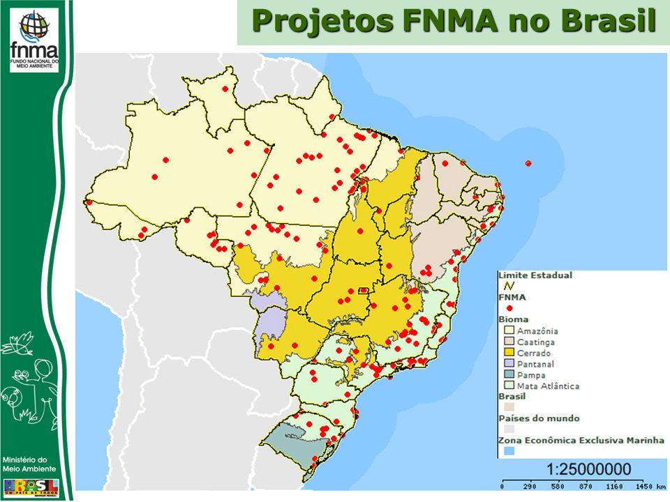 Projetos FNMA no Brasil