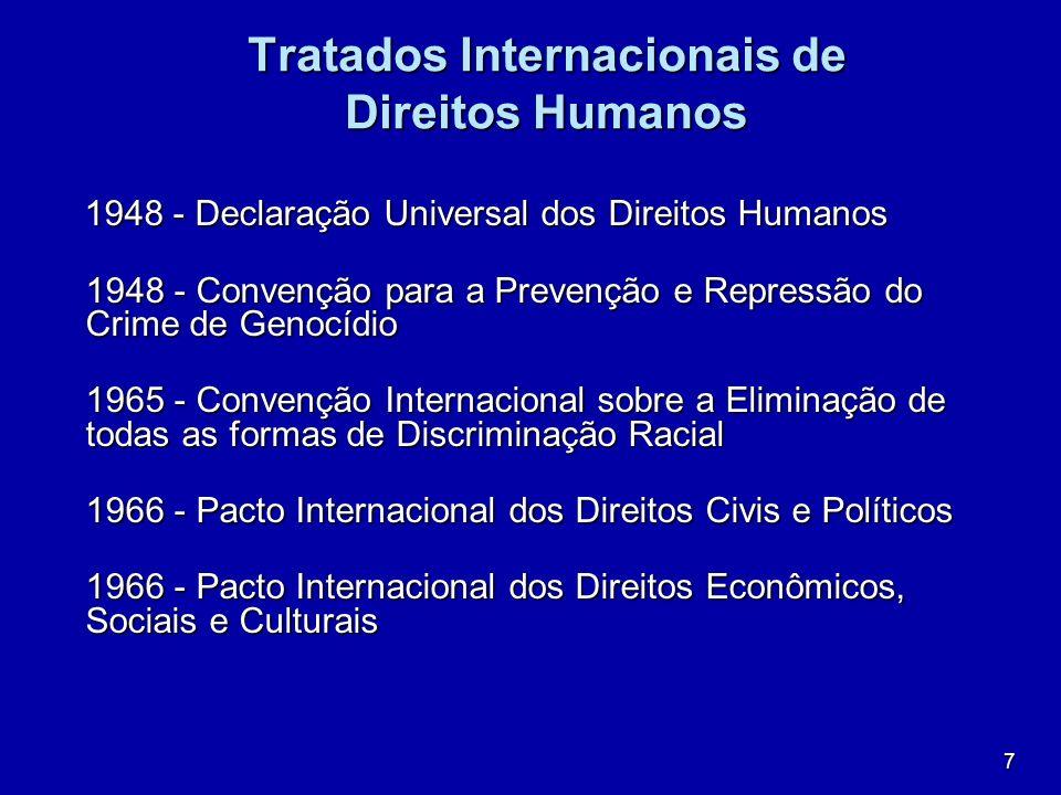 7 Tratados Internacionais de Direitos Humanos 1948 - Declaração Universal dos Direitos Humanos 1948 - Declaração Universal dos Direitos Humanos 1948 -
