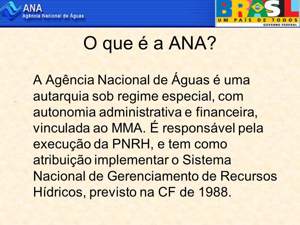 O que é a ANA.