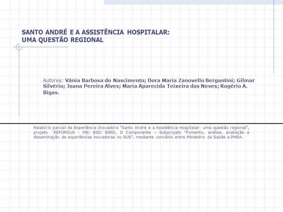 Autores: Vânia Barbosa do Nascimento; Dora Maria Zanovello Bergantini; Gilmar Silvério; Joana Pereira Alves; Maria Aparecida Teixeira das Neves; Rogér