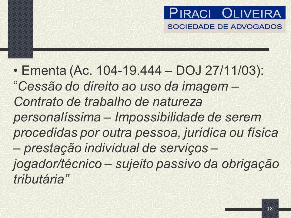 18 Ementa (Ac.