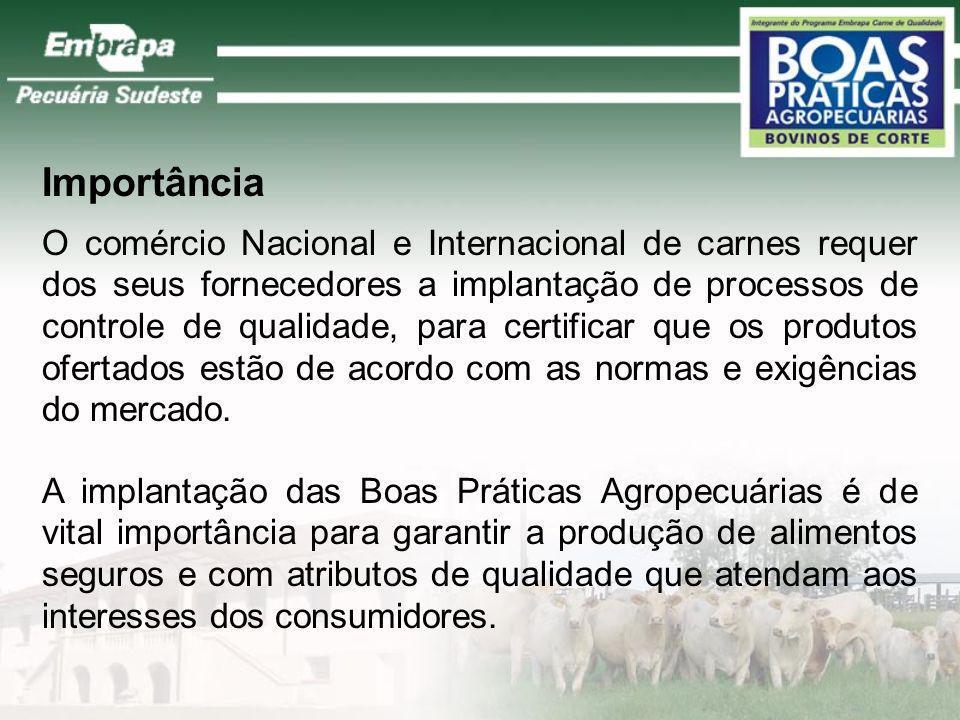 O que são Boas Práticas Agropecuárias? São normas e procedimentos que devem ser observados pelos produtores rurais para garantir a produção de aliment