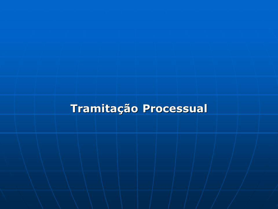 Tramitação Processual