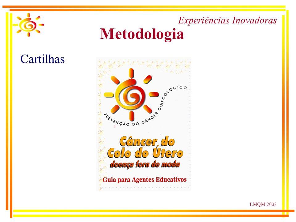 LMQM-2002 Experiências Inovadoras Metodologia Cartilhas