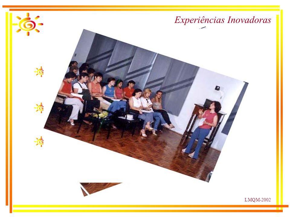 LMQM-2002 Experiências Inovadoras Profissionais Saúde Equipe de enfermagem das Unidades Básicas de Saúde do Município Apostila com técnicas de coleta, preenchimento de formulários.