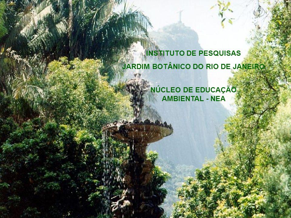 INSTITUTO DE PESQUISAS JARDIM BOTÂNICO DO RIO DE JANEIRO NÚCLEO DE EDUCAÇÃO AMBIENTAL - NEA
