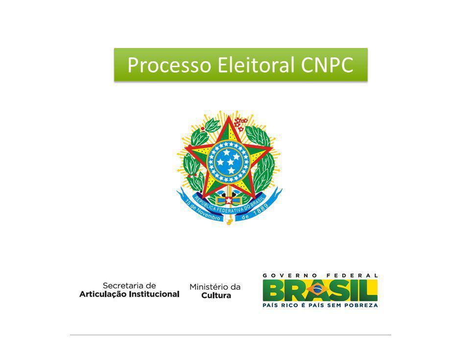 Processo Eleitoral para membros dos Colegiados Setoriais do Conselho Nacional de Política Cultural – CNPC oriundos da sociedade civil para o período de 2012 a 2014.