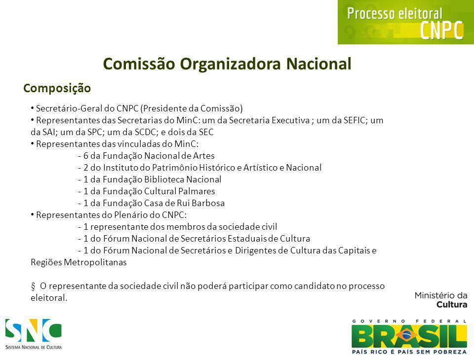Participação Social nas políticas públicas de Cultura Cidadãos dos 5.565 Municípios do Brasil, que atuam nas áreas técnico-artísticas e de patrimônio cultural podem participar do processo eleitoral para os Colegiados Setoriais do Conselho Nacional de Política Cultural para o período de 2012 a 2014.