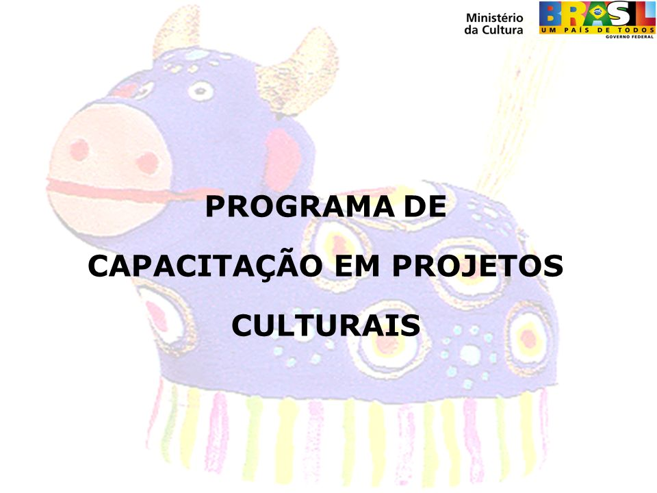 MINISTÉRIO DA CULTURA SECRETARIA DE INCENTIVO E FOMENTO À CULTURA Junho de 2008