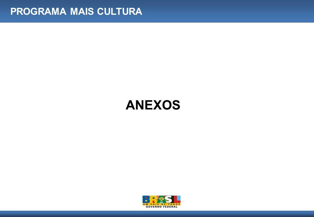 ANEXOS PROGRAMA MAIS CULTURA
