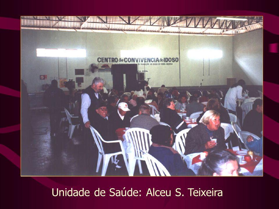 Unidade de Saúde: Alceu S. Teixeira