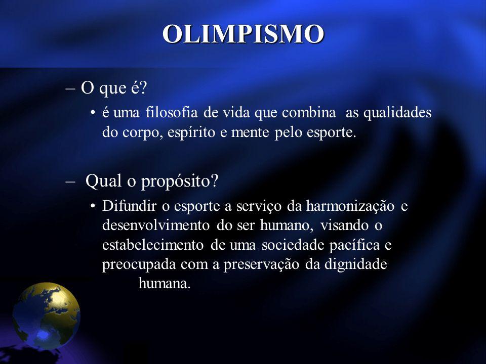 OLIMPISMO –O que é.