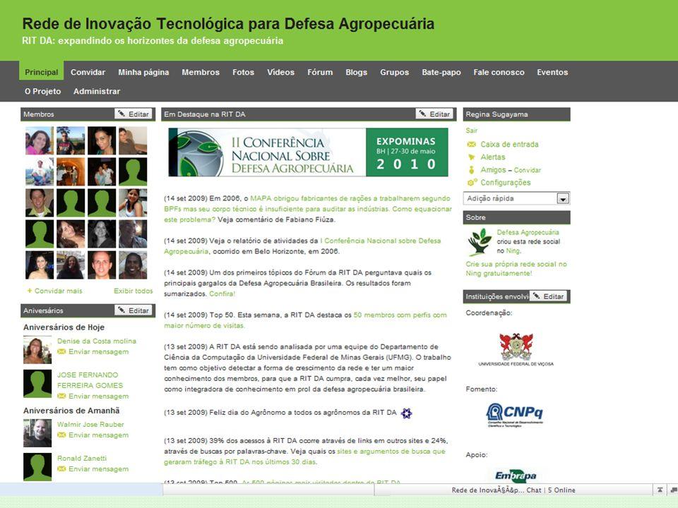 26 a 29 de maio de 2009 | Belo Horizonte | MG Workshops de Integração Programa Mais Ciência, Mais Tecnologia Reunião FAO Reunião Fonesa Reunião CFMV Palestras Cursos