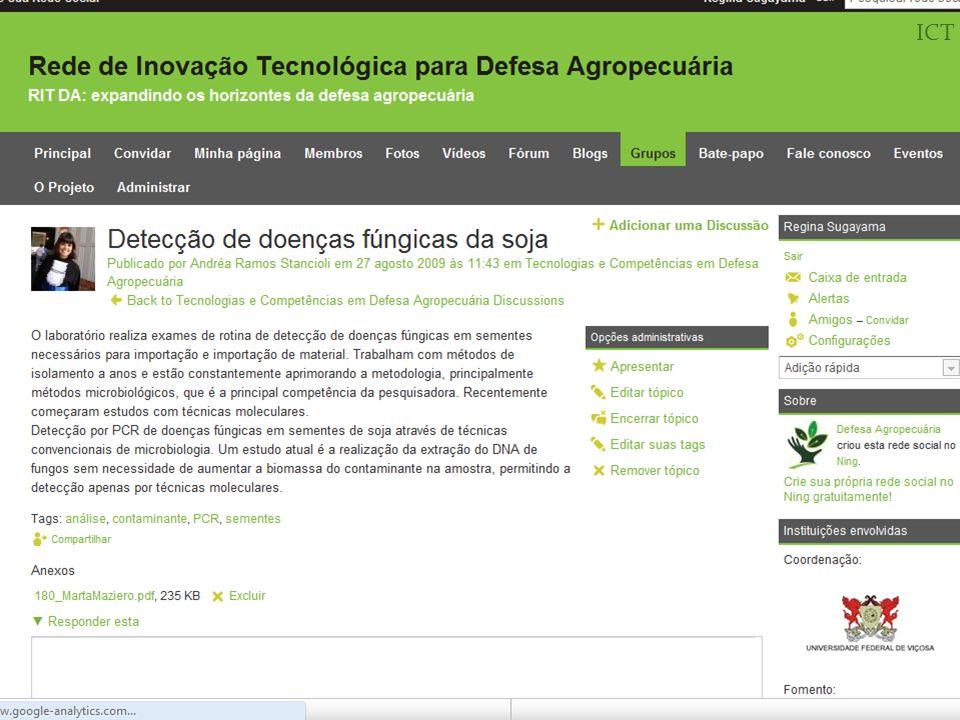 Informações Evaldo F.Vilela (Coordenador) evaldovilela@gmail.comevaldovilela@gmail.com Regina L.