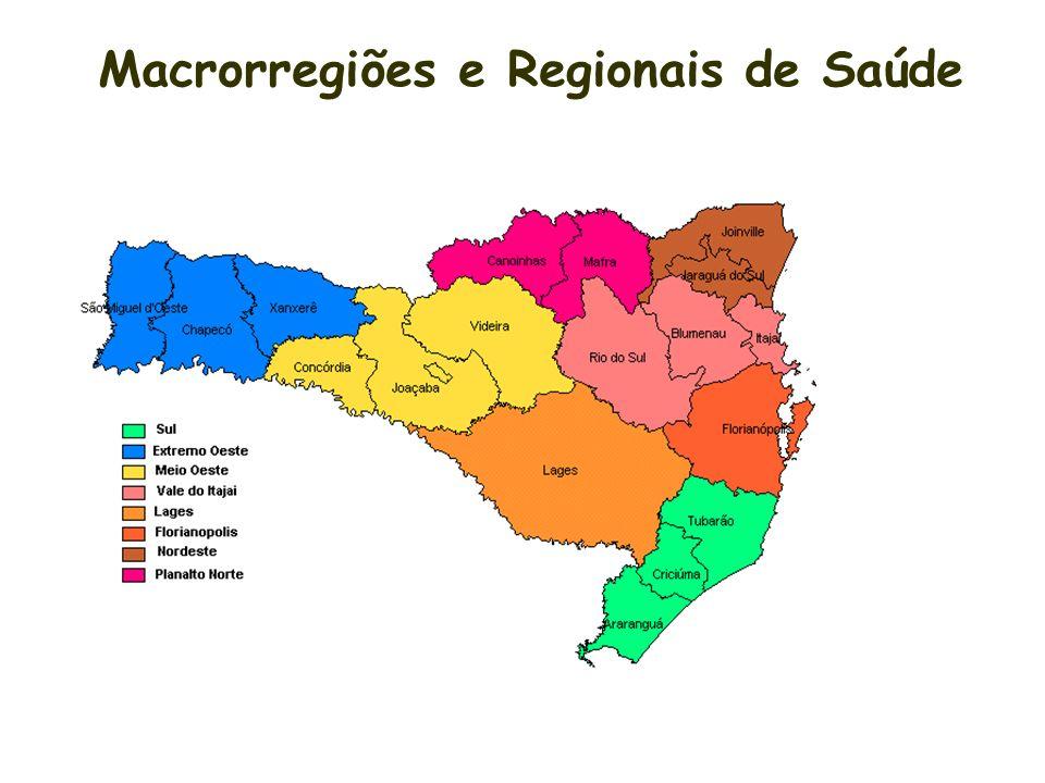 critérios econômico - sociais: localização geográfica população agrupamento por regionais de saúde eqüidistância sistema viário cultura de deslocament