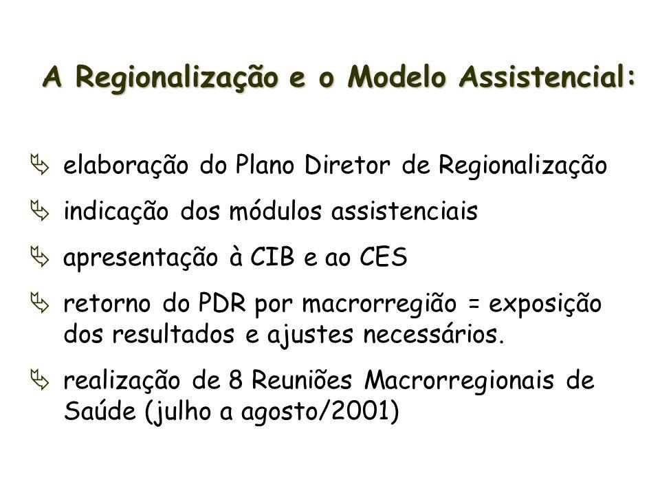 Realização de 7 Seminários Macrorregionais: seminário data macrorregião município-sede 1º 11/05/01 Vale do Itajaí Rio do Sul 2º 25/05/01 Sul Araranguá