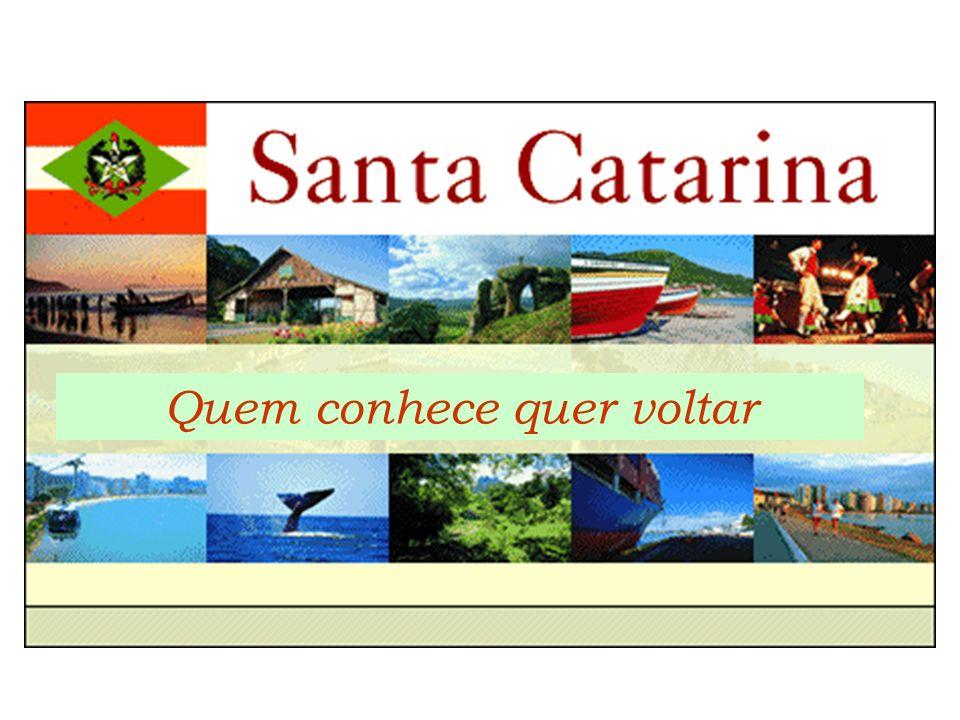 CARACTERIZAÇÃO DO ESTADO DE SANTA CATARINA