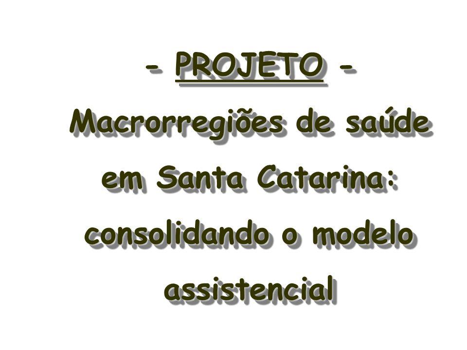 18ª Regional de Saúde – 1 Florianópolis 2 São José 3 Santo A.