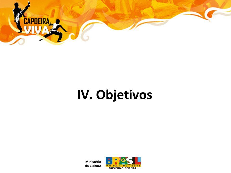 IV. Objetivos
