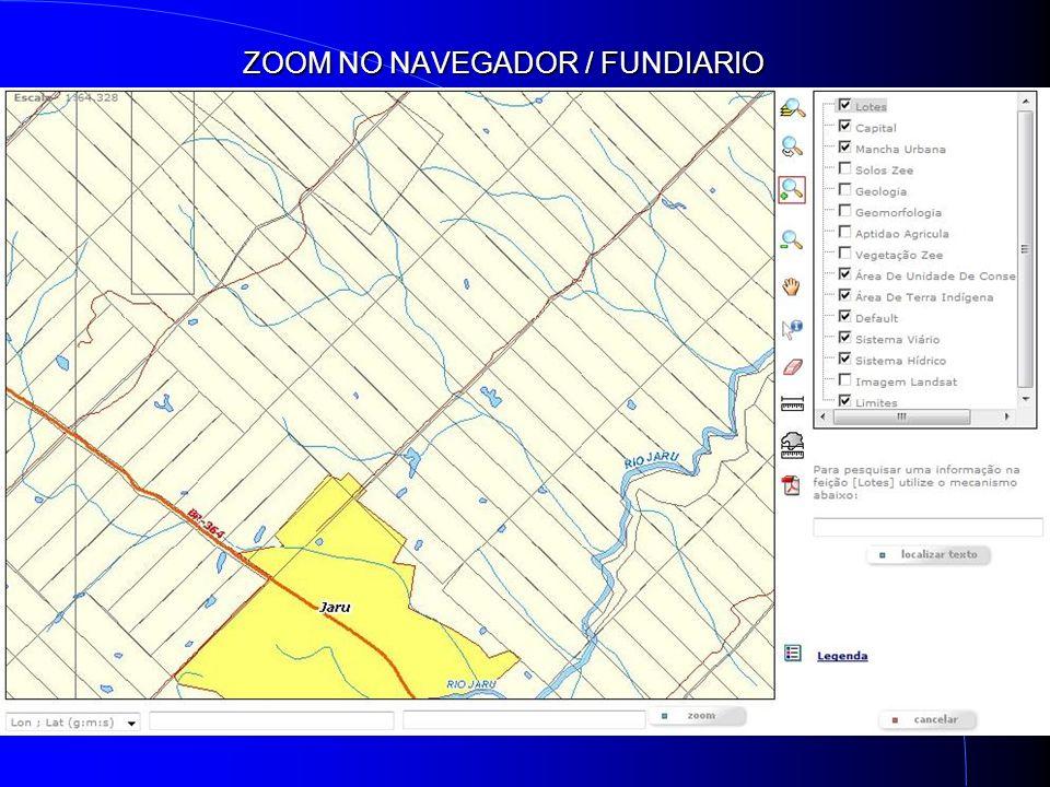 ZOOM NO NAVEGADOR / FUNDIARIO