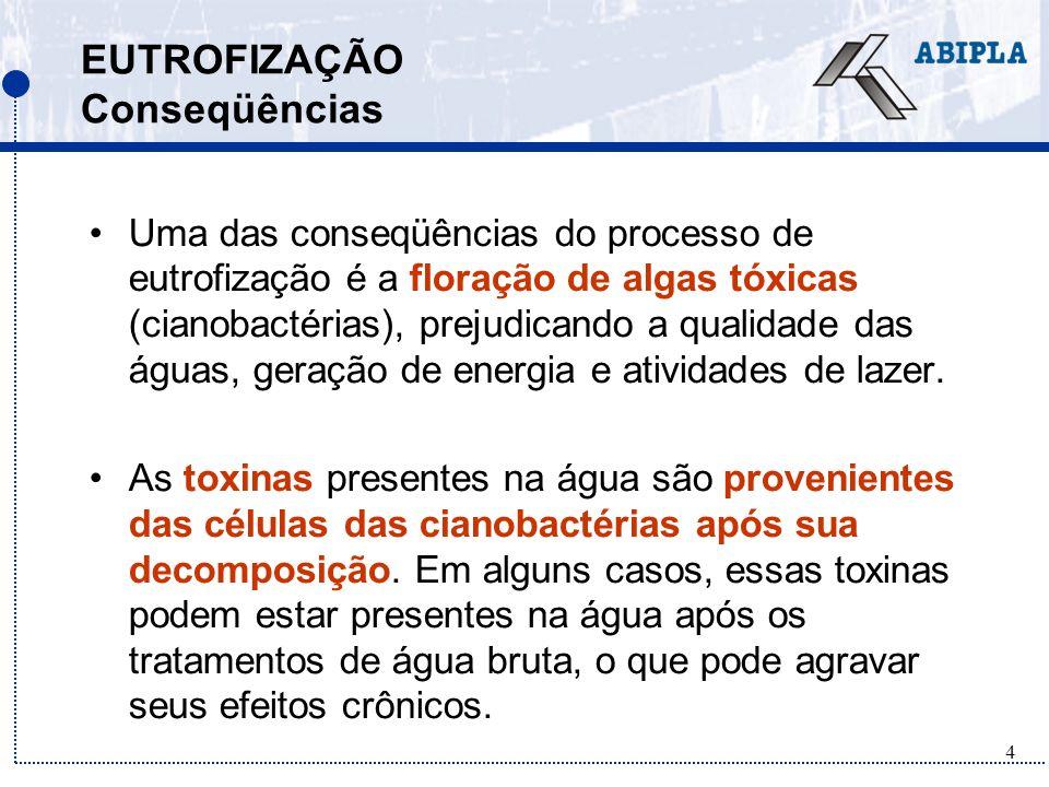 5 FLORAÇÃO DE ALGAS Caso Caruaru Em fevereiro de 1996, houve crise de hepatite aguda em um centro de hemodiálise em Caruaru, no Brasil –86% dos pacientes sofreram perturbações visuais e outros sintomas –muitos apresentaram falhas no funcionamento do fígado –50 pacientes morreram.