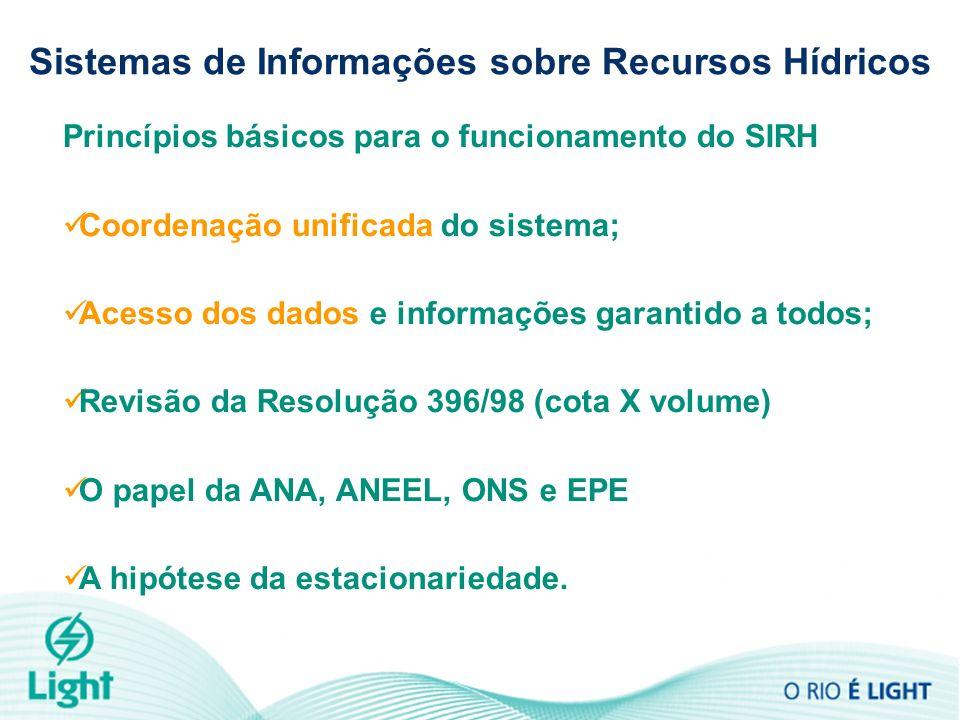 Princípios básicos para o funcionamento do SIRH Coordenação unificada do sistema; Acesso dos dados e informações garantido a todos; Revisão da Resoluç