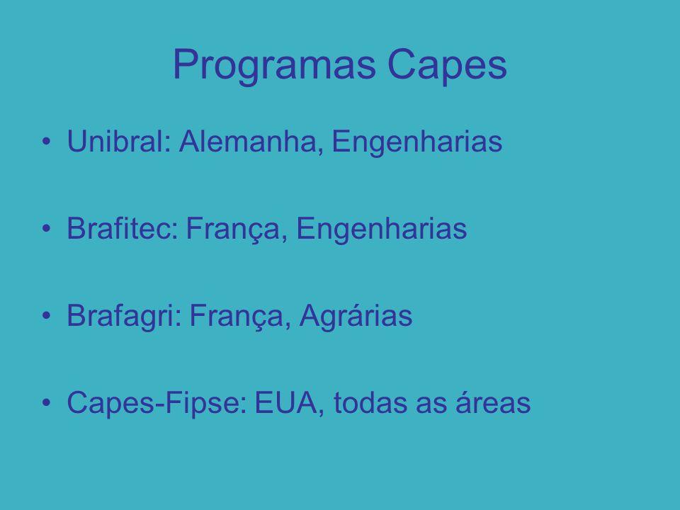 Programas Capes PLI: Licenciaturas Internacionais Com a U.